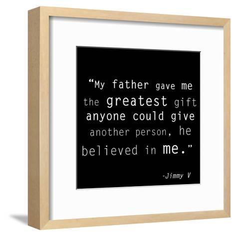 The Greatest Gift-Veruca Salt-Framed Art Print