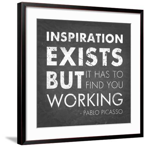Inspiration Quote-Veruca Salt-Framed Art Print