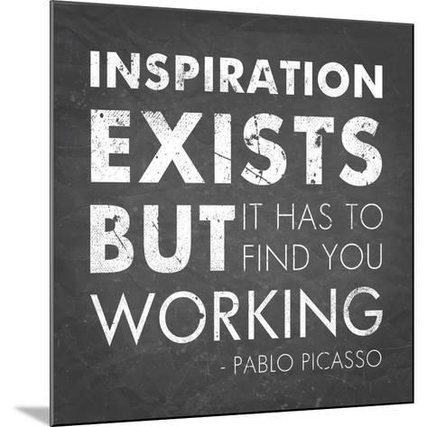 Inspiration Quote-Veruca Salt-Mounted Art Print