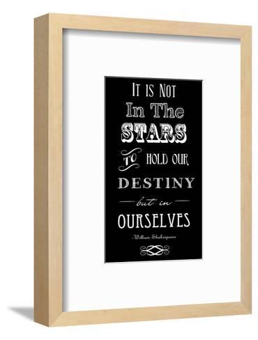 It Is Not In The Stars-Veruca Salt-Framed Art Print