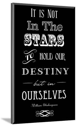 It Is Not In The Stars-Veruca Salt-Mounted Art Print