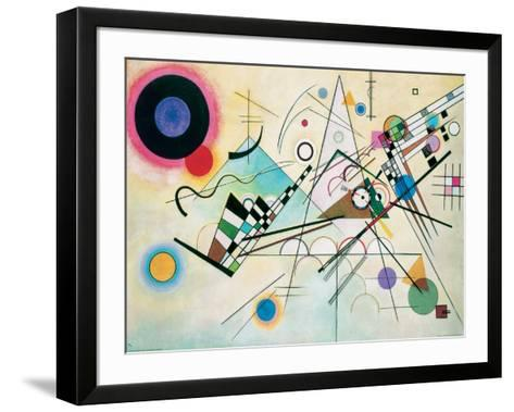Composition VIII-Wassily Kandinsky-Framed Art Print