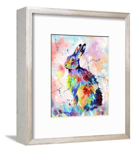 Color Hare-Sarah Stribbling-Framed Art Print