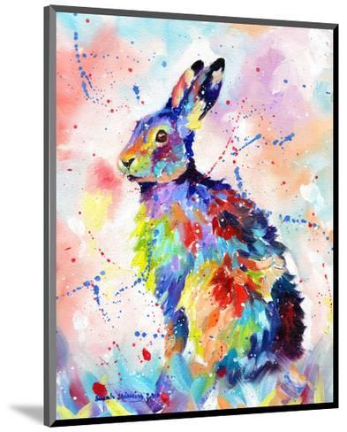 Color Hare-Sarah Stribbling-Mounted Art Print