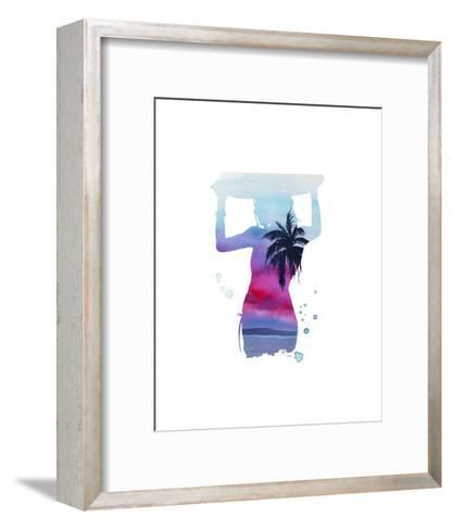 Surf?s Up-Jessica Durrant-Framed Art Print