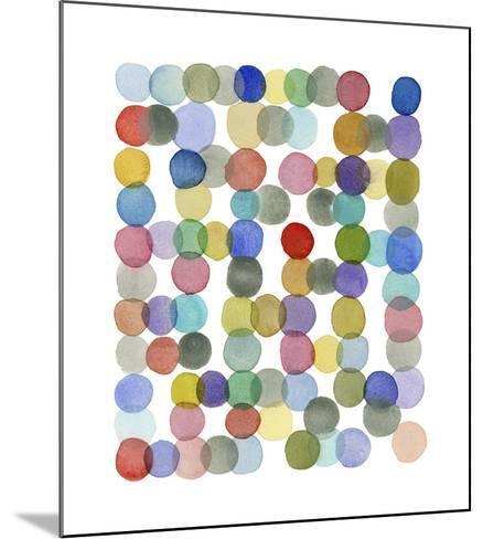 Series Colored Dots No. II-Louise van Terheijden-Mounted Giclee Print