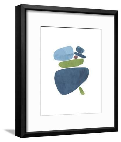 Standing Stone II-Rob Delamater-Framed Art Print