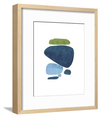 Standing Stone III-Rob Delamater-Framed Art Print