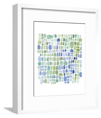 Series Sea Glass No. II-Louise van Terheijden-Framed Art Print