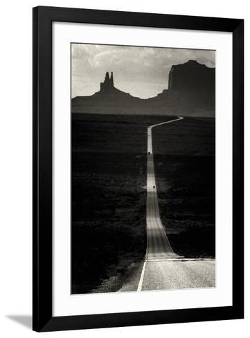 Desert Highway-Hakan Strand-Framed Art Print