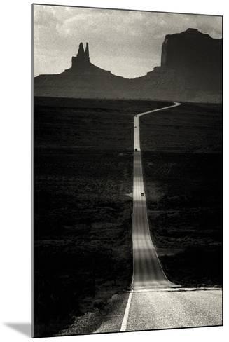 Desert Highway-Hakan Strand-Mounted Giclee Print