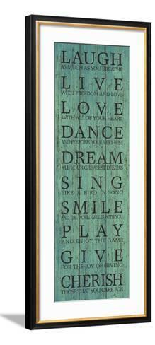 Live Your Life III-The Vintage Collection-Framed Art Print