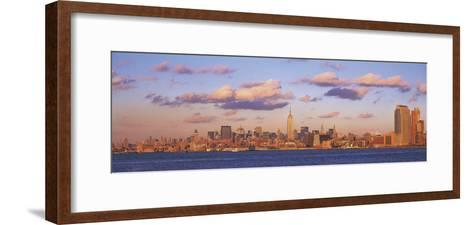 New York Panorama-Adam Brock-Framed Art Print