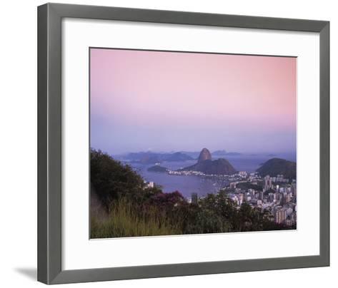 Beautiful Rio-Bent Rej-Framed Art Print