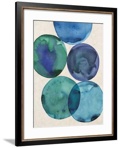 Oceans I-Belle Poesia-Framed Art Print