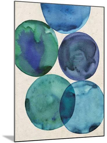Oceans I-Belle Poesia-Mounted Giclee Print