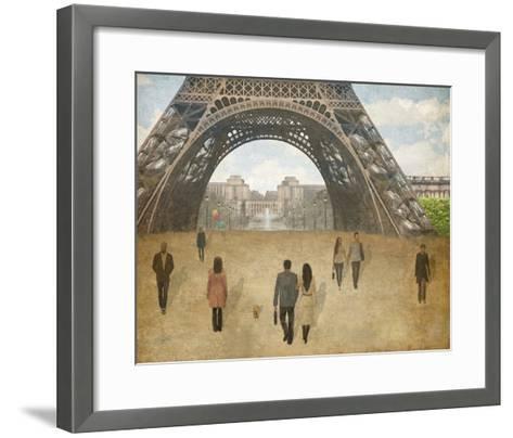 A Parisien Stroll-Midori Greyson-Framed Art Print