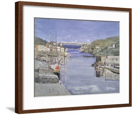 A Southern Port-Charles Rennie Mackintosh-Framed Art Print