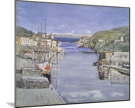 A Southern Port-Charles Rennie Mackintosh-Mounted Giclee Print