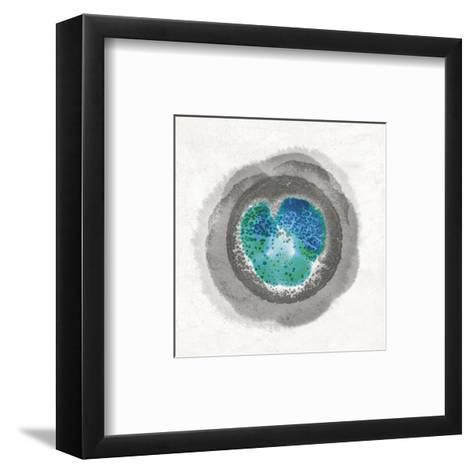 Stratum II-Belle Poesia-Framed Art Print