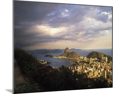 Sunlight over Rio-Bent Rej-Mounted Giclee Print