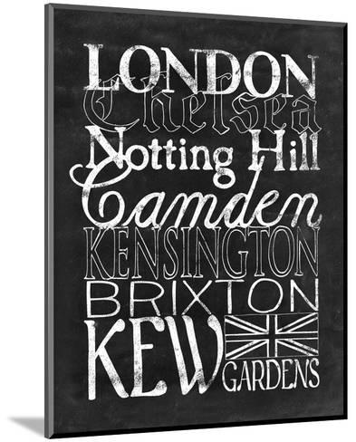 Places to Be - London-Lottie Fontaine-Mounted Art Print