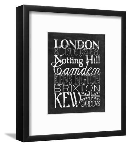 Places to Be - London-Lottie Fontaine-Framed Art Print