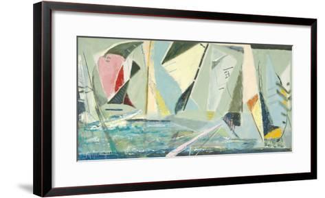 Windward Mark-Virginia J^ Ward-Framed Art Print