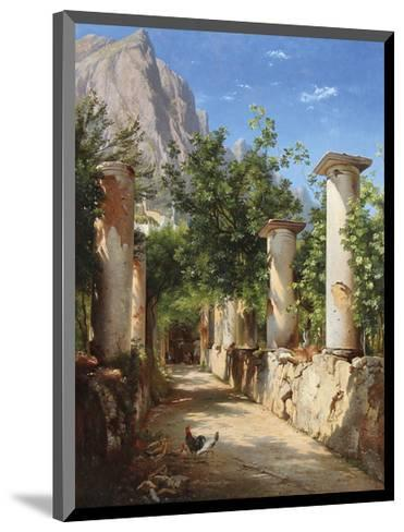 An Ancient Colonnade, Italy-Carl Frederic Aagaard-Mounted Premium Giclee Print