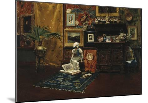 Studio Interior, c.1882-William Merritt Chase-Mounted Premium Giclee Print