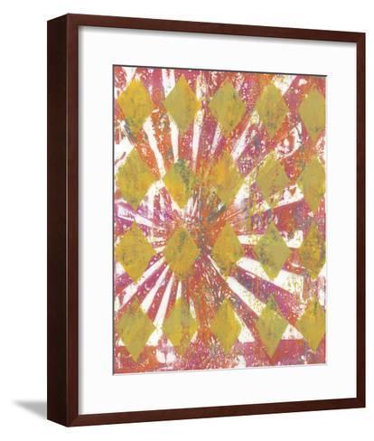 Harlequin Abstract II-Naomi McCavitt-Framed Art Print