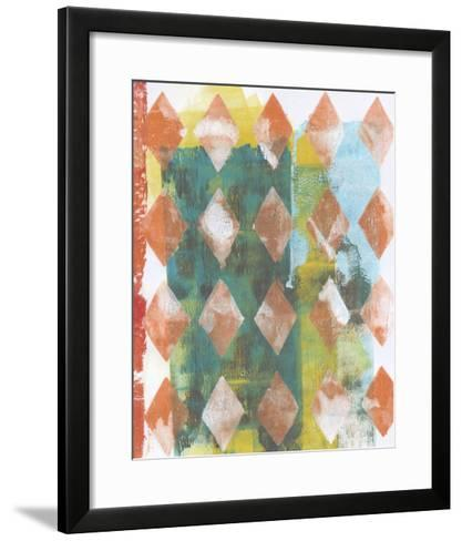 Harlequin Abstract III-Naomi McCavitt-Framed Art Print