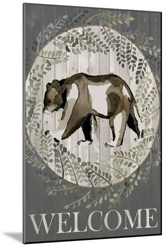 Woodland Welcome III-Grace Popp-Mounted Art Print