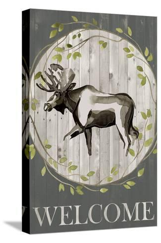 Woodland Welcome IV-Grace Popp-Stretched Canvas Print