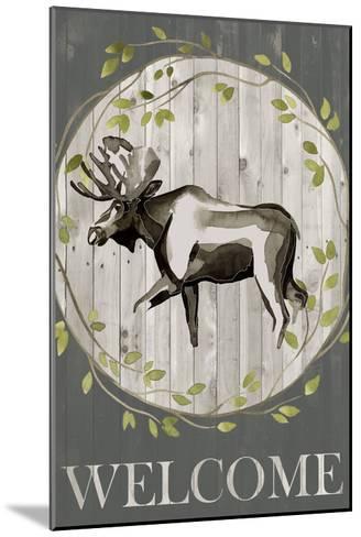 Woodland Welcome IV-Grace Popp-Mounted Art Print