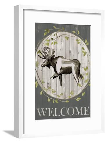 Woodland Welcome IV-Grace Popp-Framed Art Print
