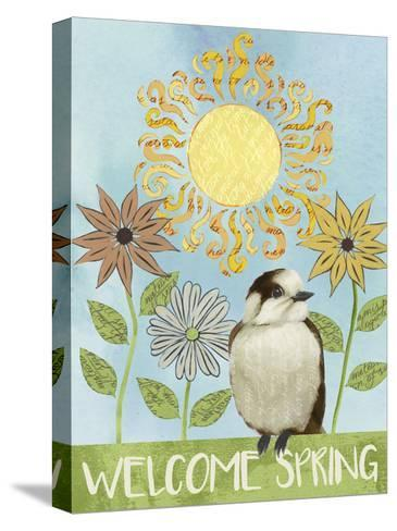 Spring Welcome I-Grace Popp-Stretched Canvas Print