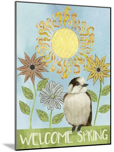 Spring Welcome I-Grace Popp-Mounted Art Print