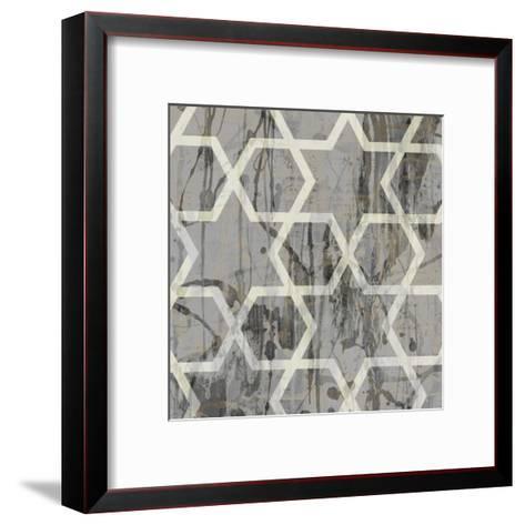 Neutral Metric VII-Jennifer Goldberger-Framed Art Print