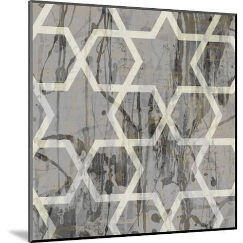 Neutral Metric VII-Jennifer Goldberger-Mounted Art Print
