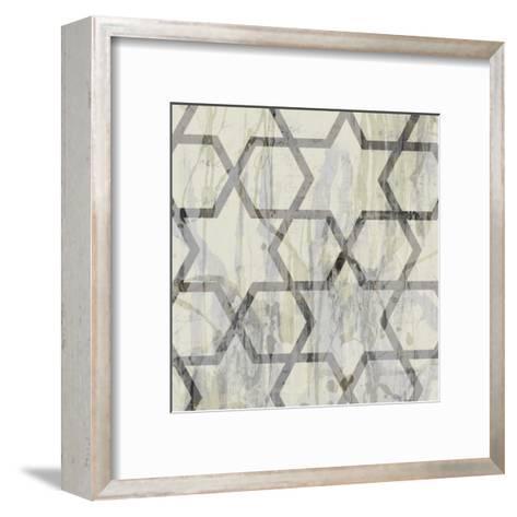 Neutral Metric VIII-Jennifer Goldberger-Framed Art Print