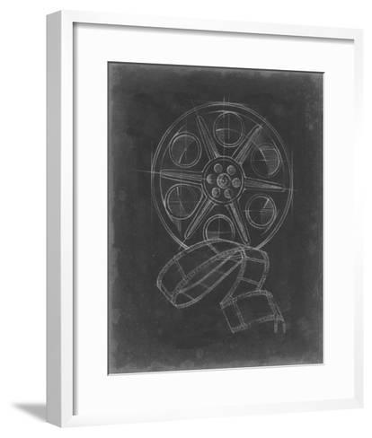 Film & Reel Blueprint II-Ethan Harper-Framed Art Print