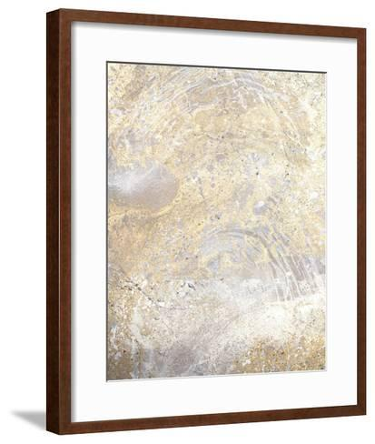 Gold Fusion VII-Julia Contacessi-Framed Art Print