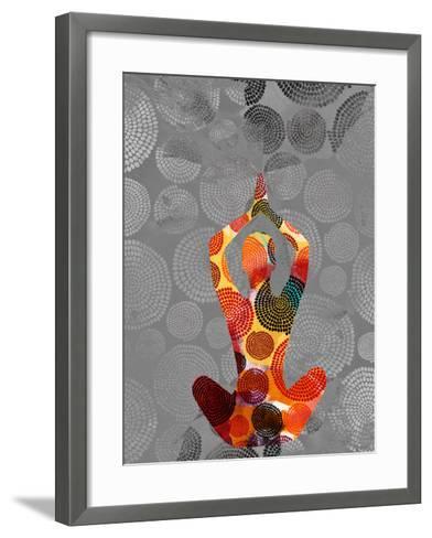 Yoga Pose III-Sisa Jasper-Framed Art Print