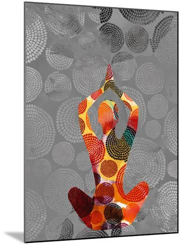 Yoga Pose III-Sisa Jasper-Mounted Giclee Print