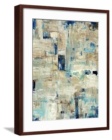 Aqua Separation II-Tim O'toole-Framed Art Print
