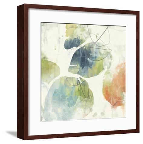 Color Motion II-June Erica Vess-Framed Art Print