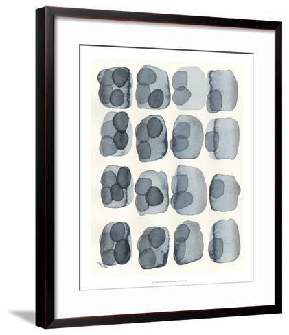 Indigo Four-Nikki Galapon-Framed Art Print