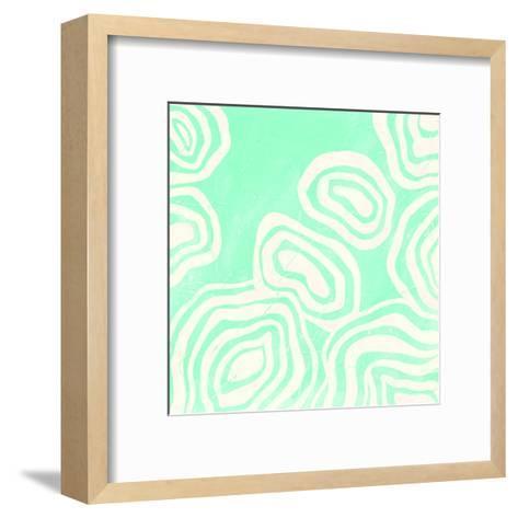 Bright Mineral I-June Erica Vess-Framed Art Print