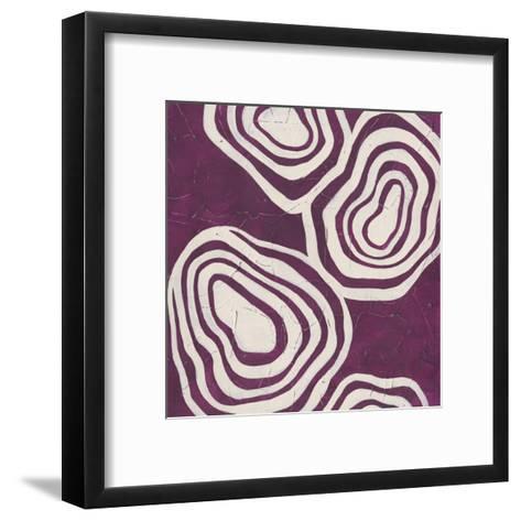 Bright Mineral V-June Erica Vess-Framed Art Print
